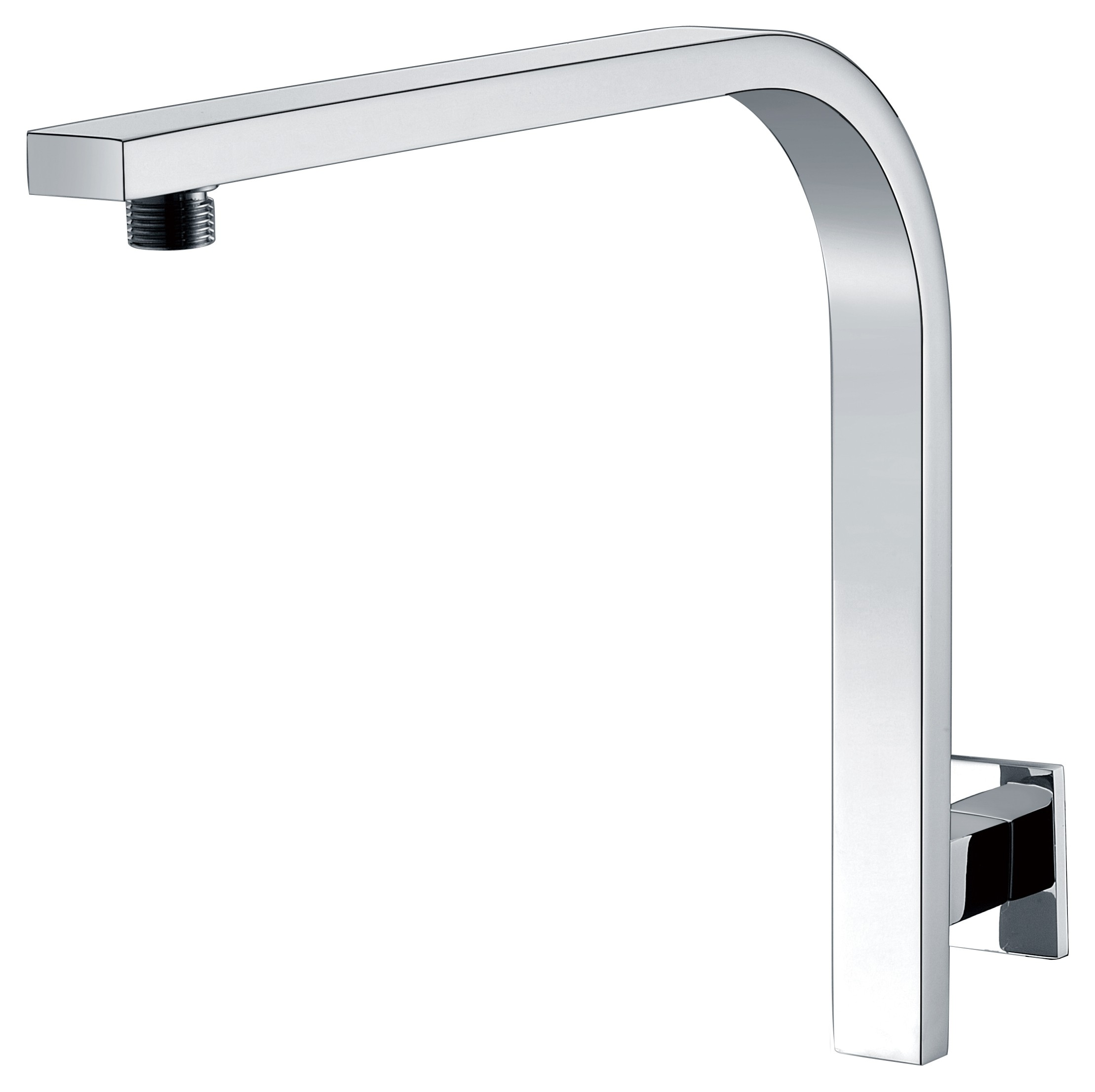 Cubo HRS-1 SQUARE HIGH RISE SHOWER ARM WALL