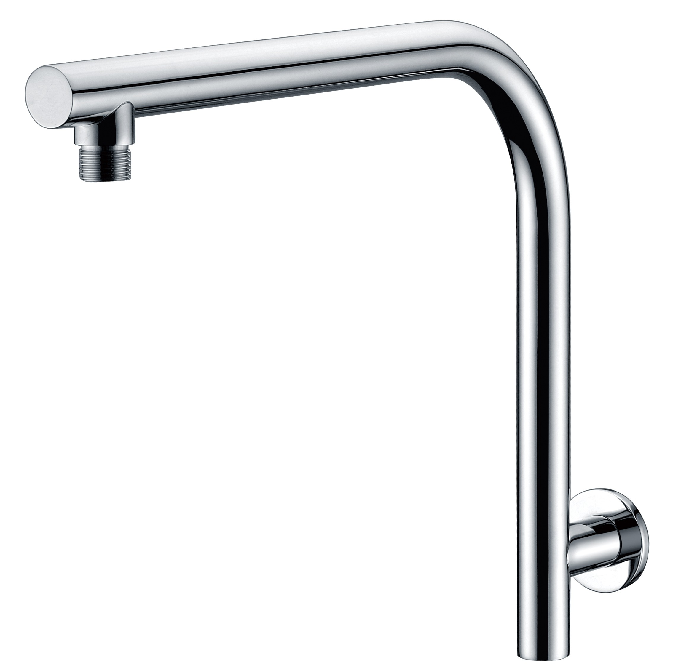 RONDO HRS-2 ROUND HIGH RISE SHOWER ARM WALL